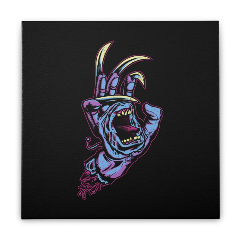 Slasher Hand Home Stretched Canvas by ES427's Artist Shop