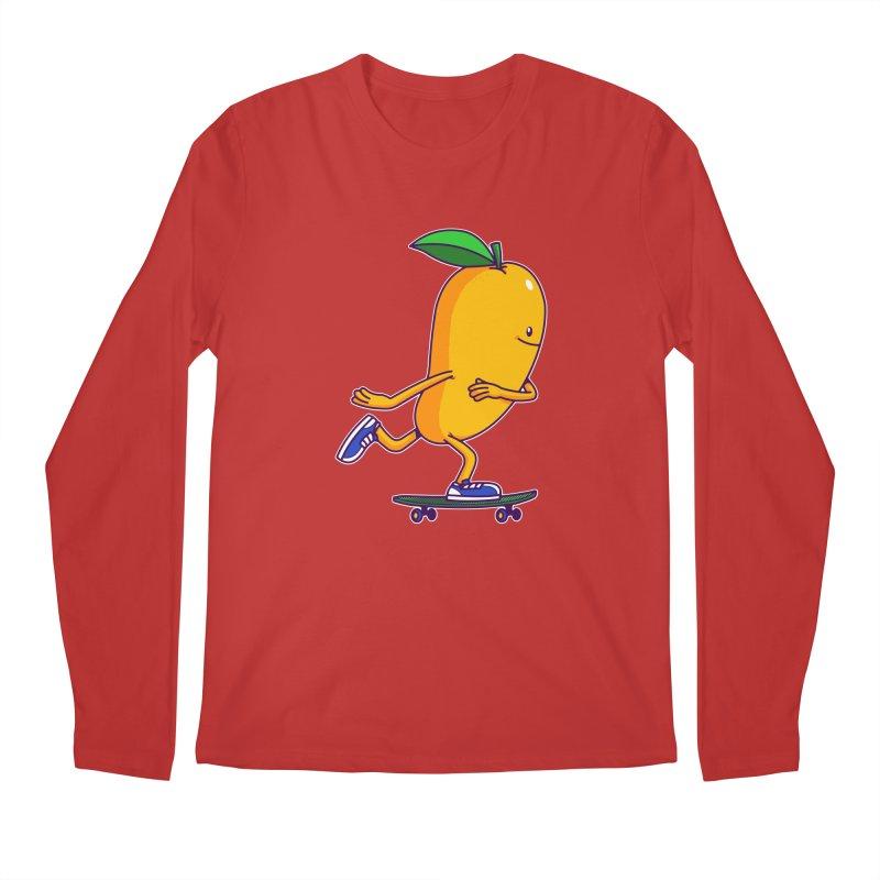 Skater Mango Men's Longsleeve T-Shirt by ES427's Artist Shop
