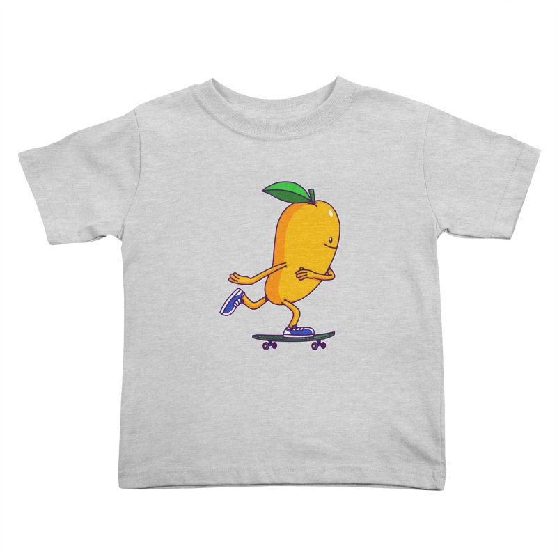 Skater Mango Kids Toddler T-Shirt by ES427's Artist Shop