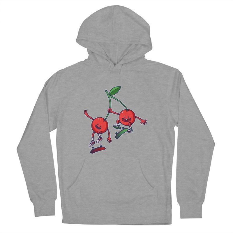 Skater Cherries Women's Pullover Hoody by ES427's Artist Shop