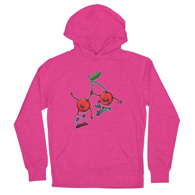 Skater Cherries Men's Pullover Hoody by ES427's Artist Shop