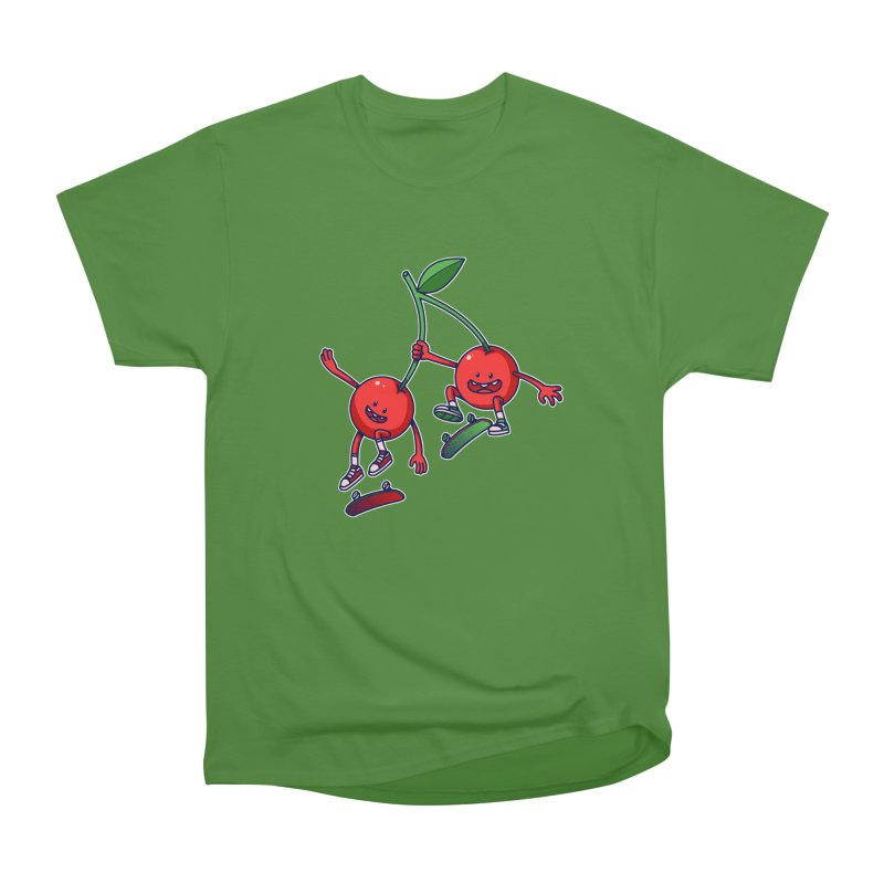 Skater Cherries Women's Classic Unisex T-Shirt by ES427's Artist Shop