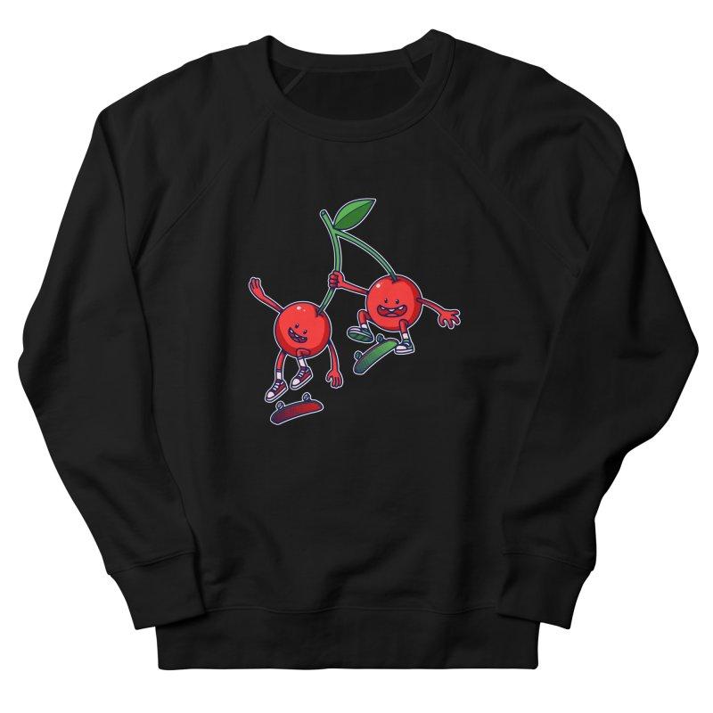 Skater Cherries Women's Sweatshirt by ES427's Artist Shop