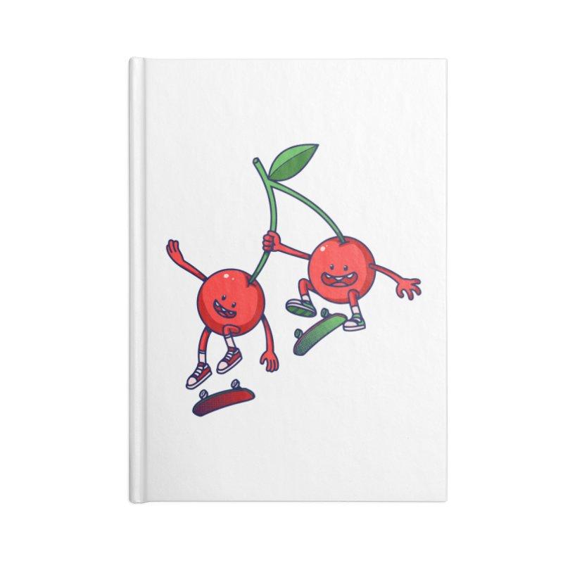Skater Cherries Accessories Notebook by ES427's Artist Shop
