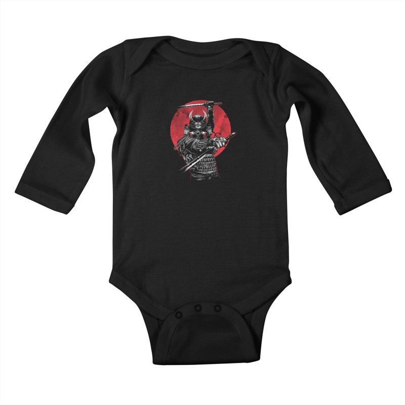 RONIN Kids Baby Longsleeve Bodysuit by ES427's Artist Shop