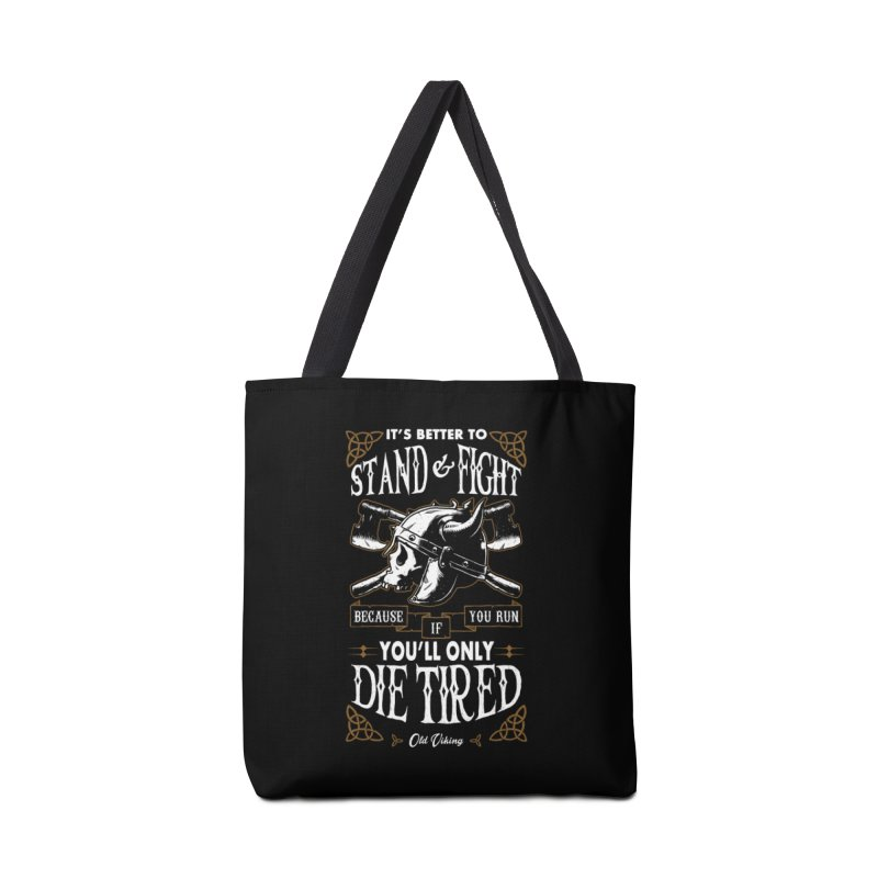 Stand and Fight Accessories Bag by ES427's Artist Shop