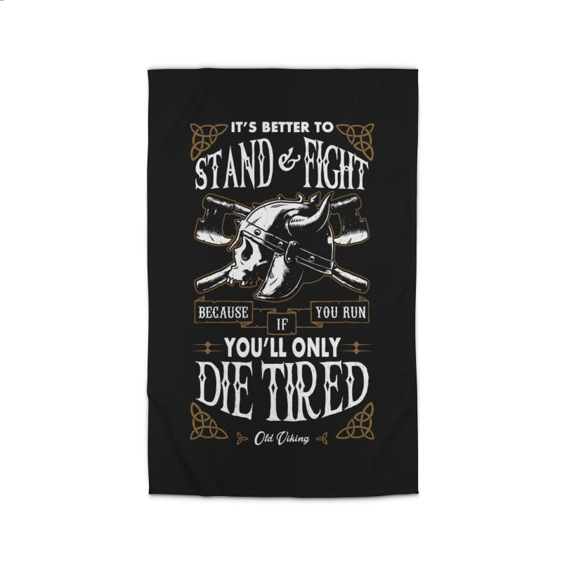 Stand and Fight Home Rug by ES427's Artist Shop