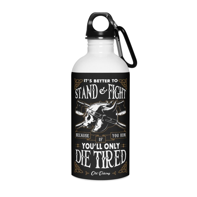 Stand and Fight Accessories Water Bottle by ES427's Artist Shop