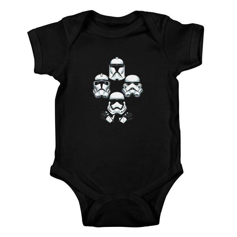 Troops Rhapsody Kids Baby Bodysuit by ES427's Artist Shop