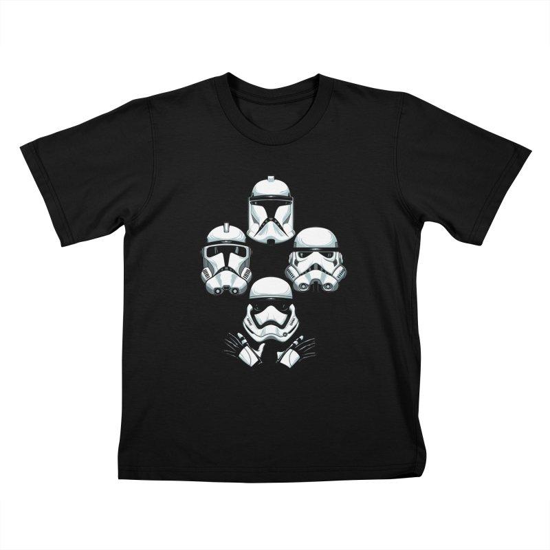 Troops Rhapsody Kids T-Shirt by ES427's Artist Shop