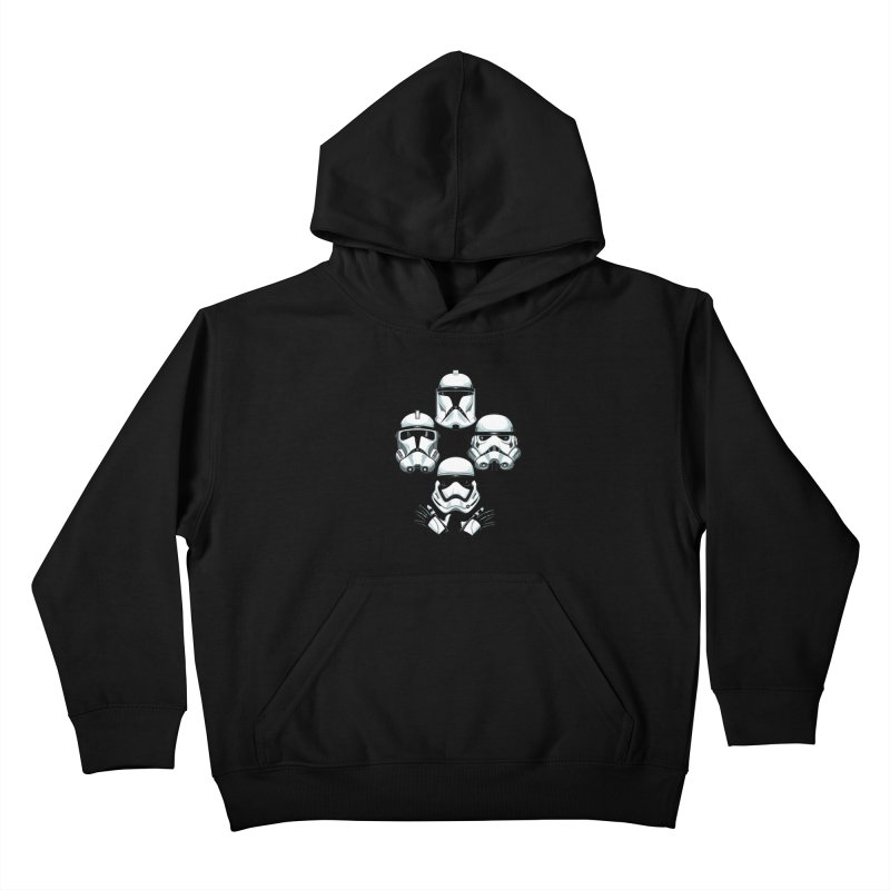 Troops Rhapsody Kids Pullover Hoody by ES427's Artist Shop