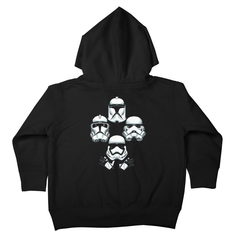 Troops Rhapsody Kids Toddler Zip-Up Hoody by ES427's Artist Shop