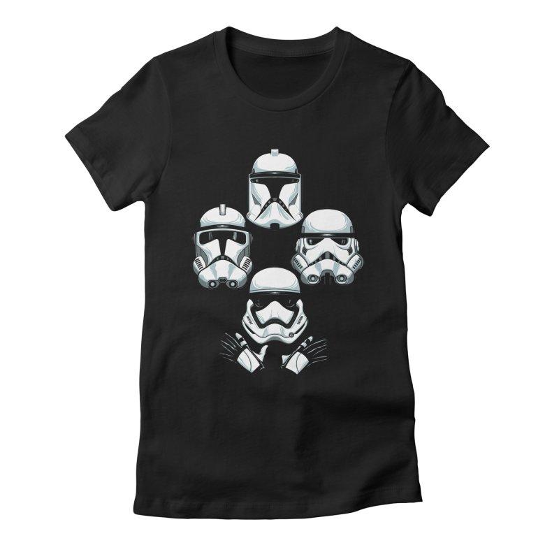 Troops Rhapsody Women's Fitted T-Shirt by ES427's Artist Shop