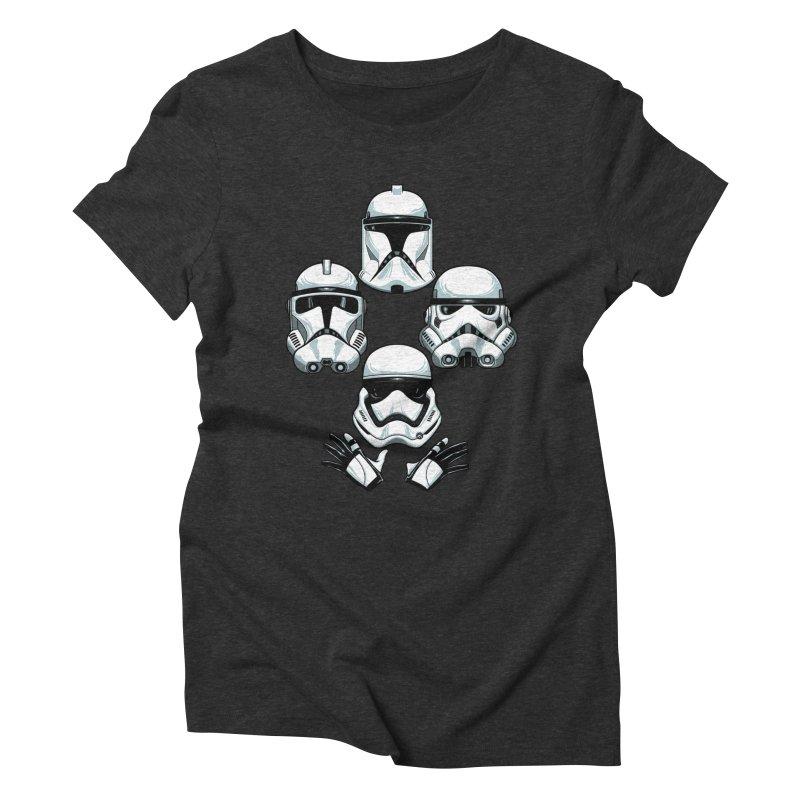 Troops Rhapsody Women's Triblend T-Shirt by ES427's Artist Shop