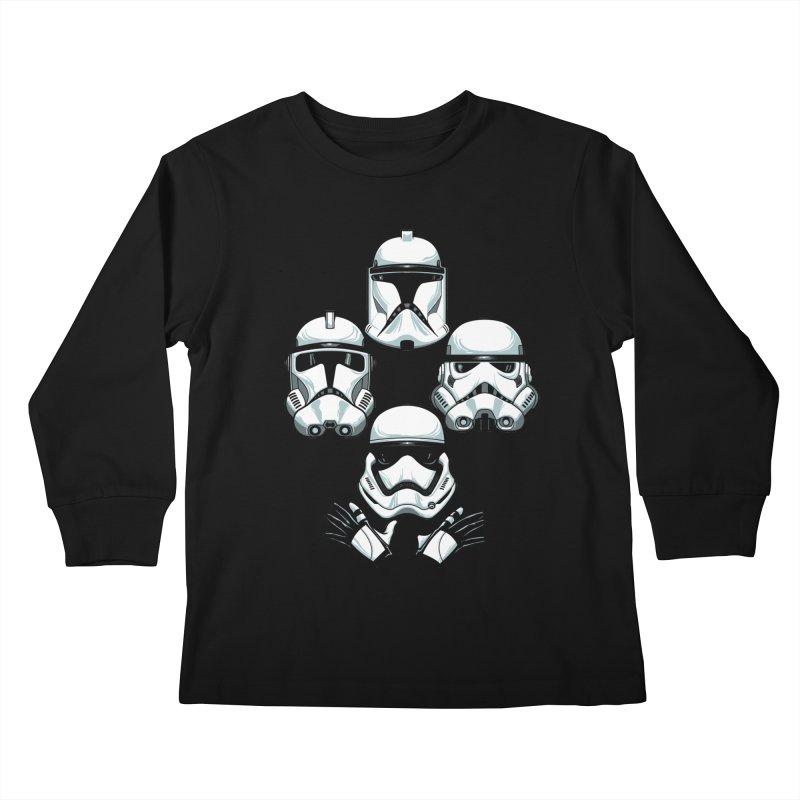 Troops Rhapsody Kids Longsleeve T-Shirt by ES427's Artist Shop