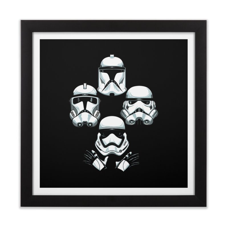 Troops Rhapsody Home Framed Fine Art Print by ES427's Artist Shop