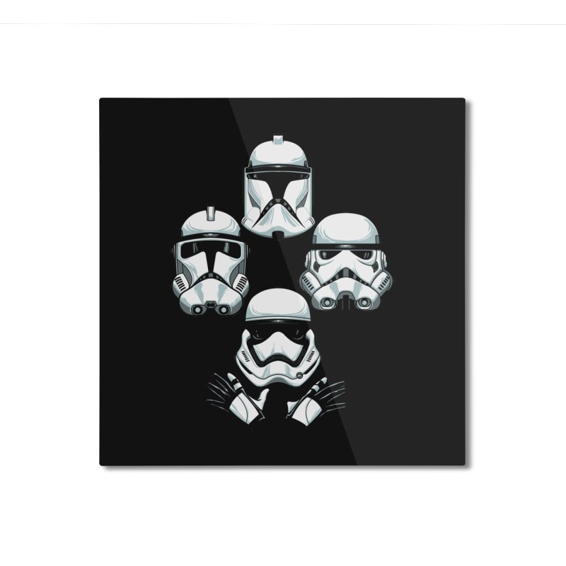Troops Rhapsody Home Mounted Aluminum Print by ES427's Artist Shop
