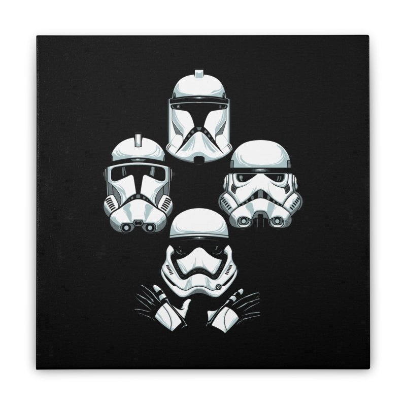 Troops Rhapsody Home Stretched Canvas by ES427's Artist Shop