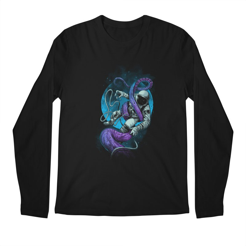 Octopus Attack Men's Longsleeve T-Shirt by ES427's Artist Shop