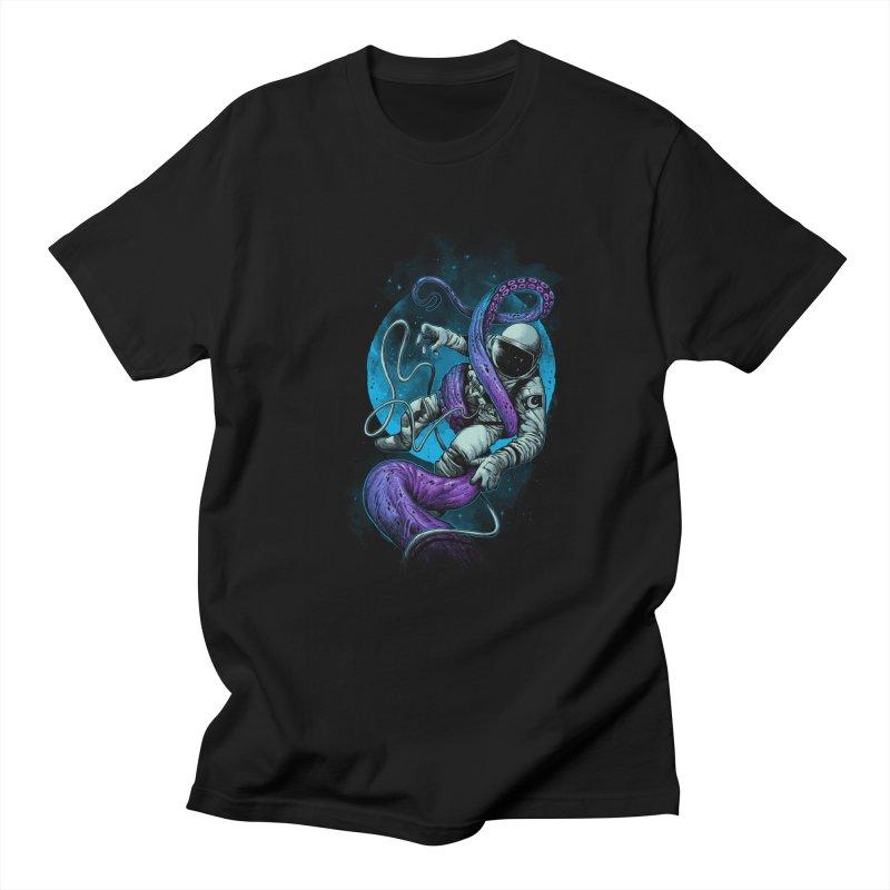 Octopus Attack Men's Regular T-Shirt by ES427's Artist Shop
