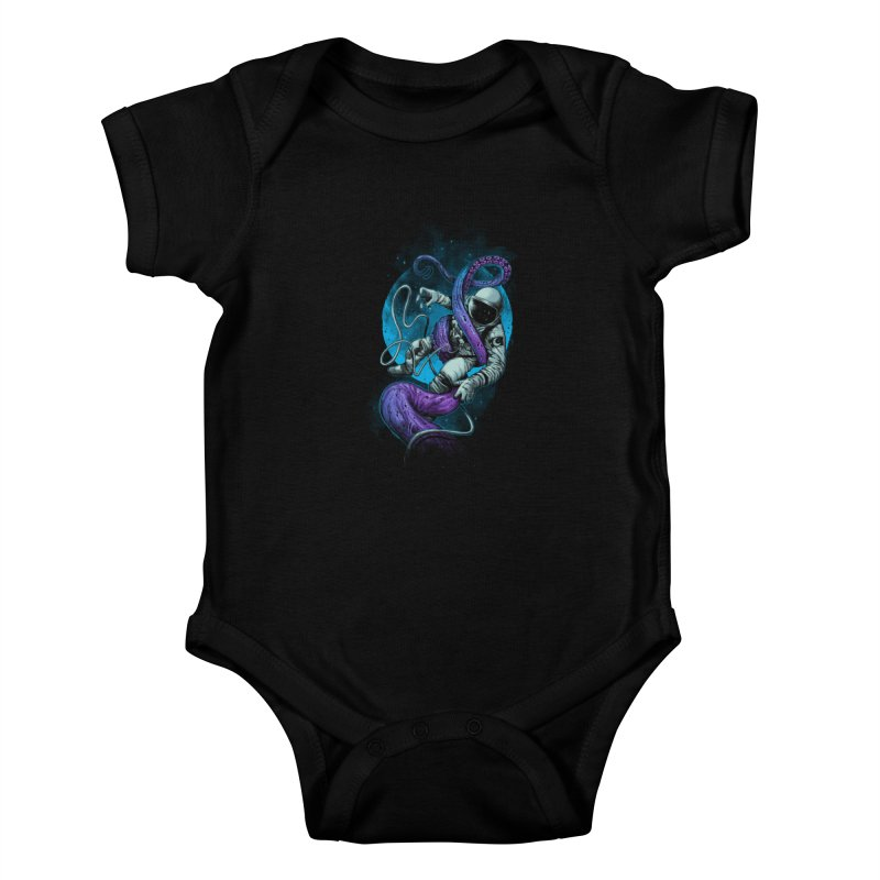 Octopus Attack Kids Baby Bodysuit by ES427's Artist Shop