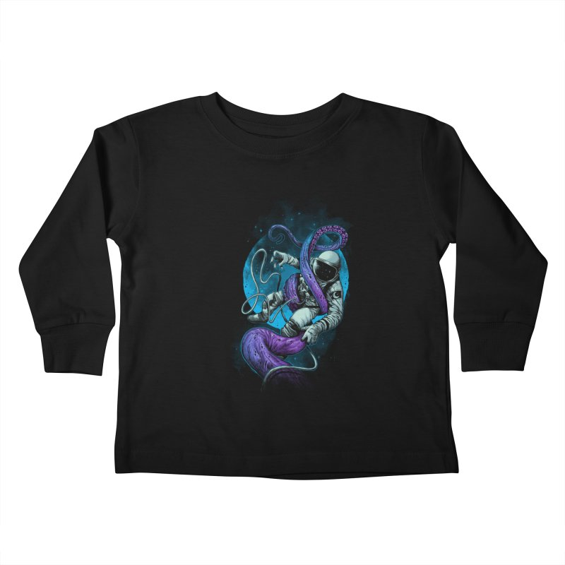Octopus Attack Kids Toddler Longsleeve T-Shirt by ES427's Artist Shop