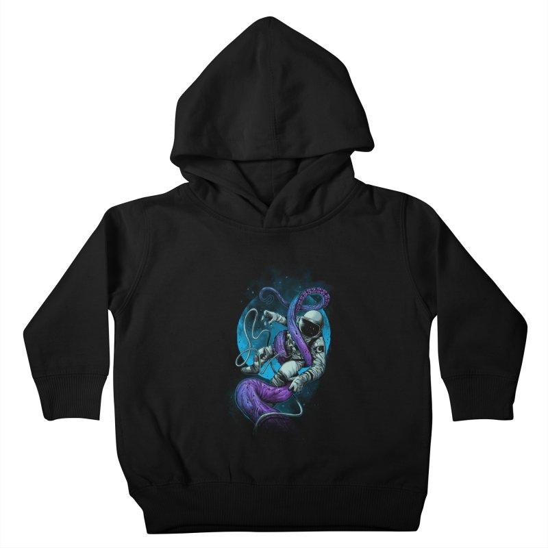 Octopus Attack Kids Toddler Pullover Hoody by ES427's Artist Shop