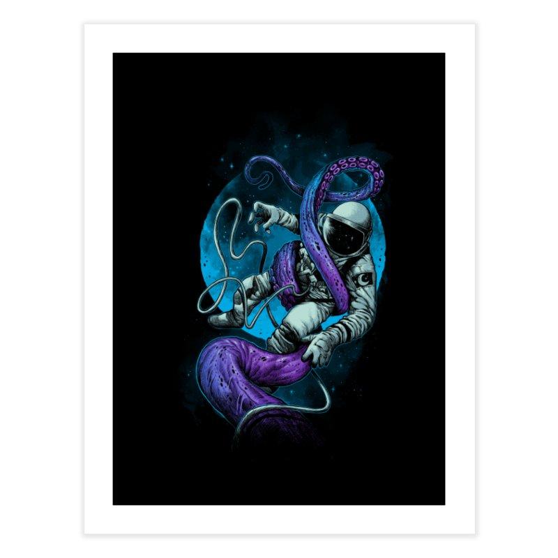 Octopus Attack Home Fine Art Print by ES427's Artist Shop