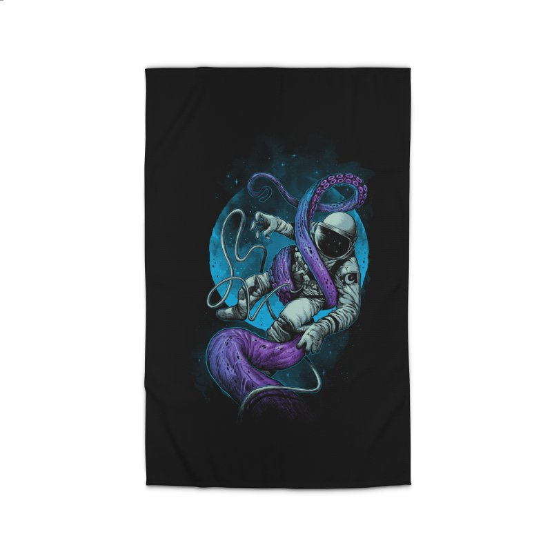 Octopus Attack Home Rug by ES427's Artist Shop