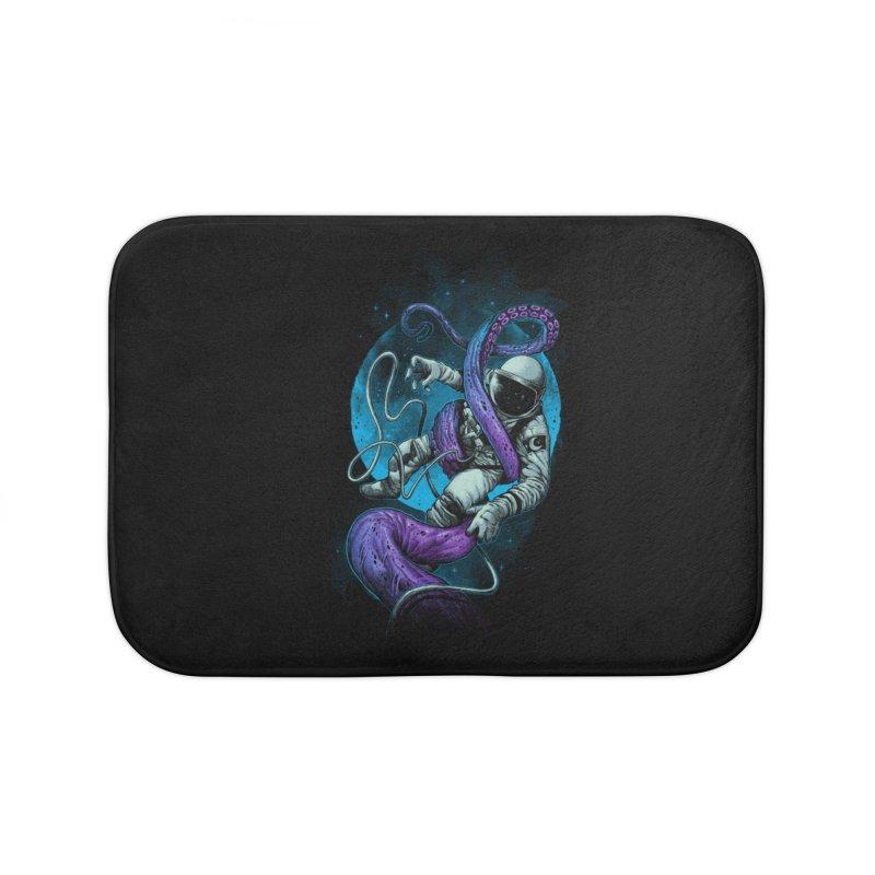 Octopus Attack Home Bath Mat by ES427's Artist Shop