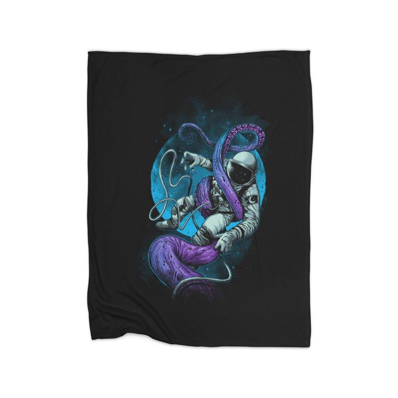 Octopus Attack Home Blanket by ES427's Artist Shop