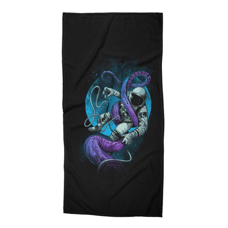 Octopus Attack Accessories Beach Towel by ES427's Artist Shop