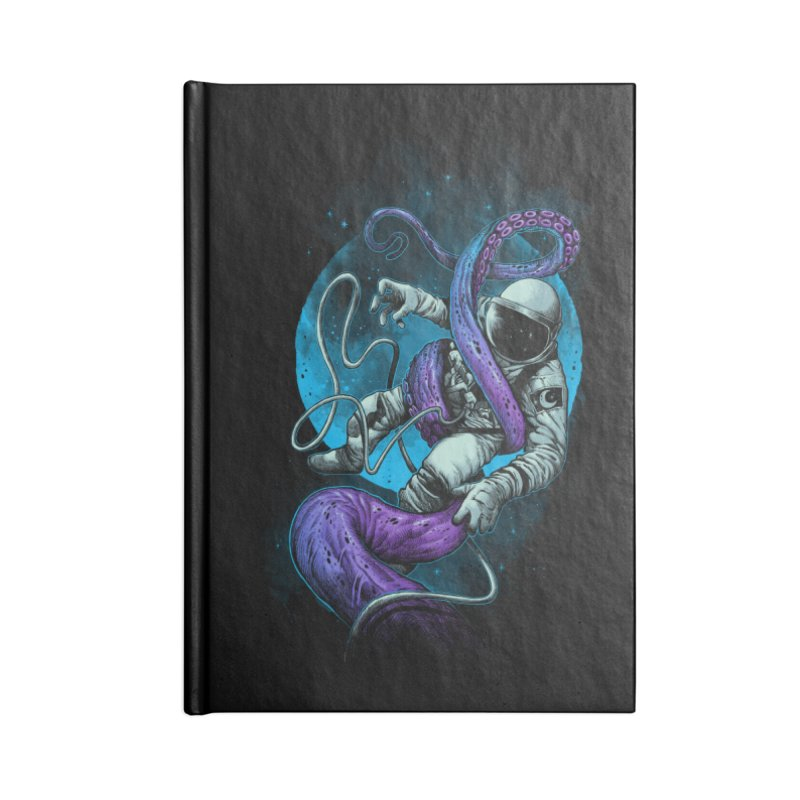Octopus Attack Accessories Notebook by ES427's Artist Shop