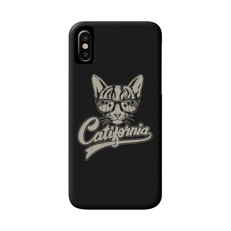 Catifornia Accessories Phone Case by ES427's Artist Shop