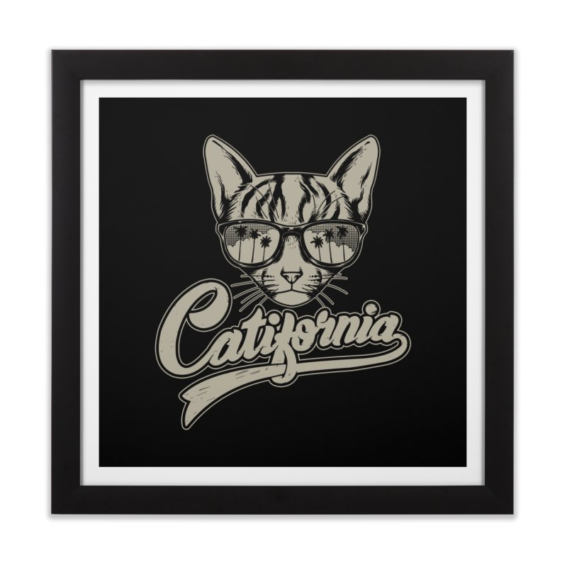 Catifornia Home Framed Fine Art Print by ES427's Artist Shop