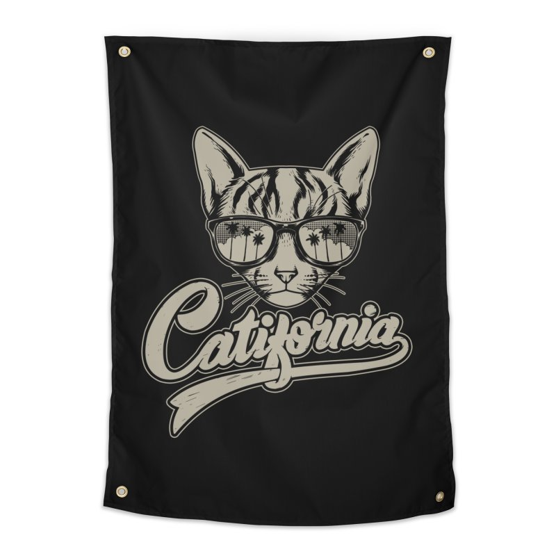 Catifornia Home Tapestry by ES427's Artist Shop