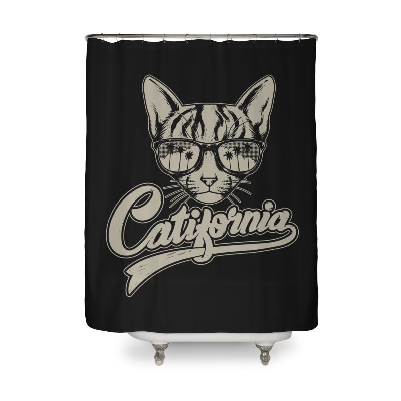 Catifornia Home Shower Curtain by ES427's Artist Shop