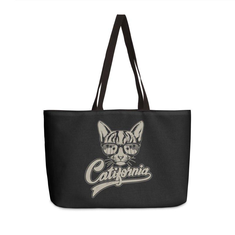 Catifornia Accessories Weekender Bag Bag by ES427's Artist Shop