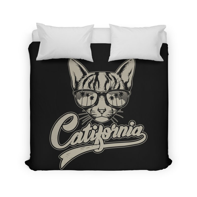 Catifornia Home Duvet by ES427's Artist Shop