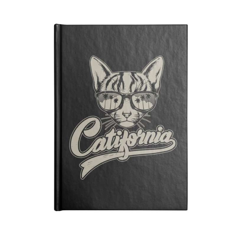 Catifornia Accessories Blank Journal Notebook by ES427's Artist Shop