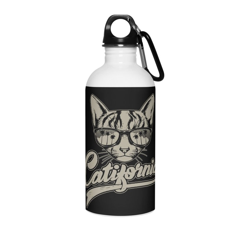 Catifornia Accessories Water Bottle by ES427's Artist Shop