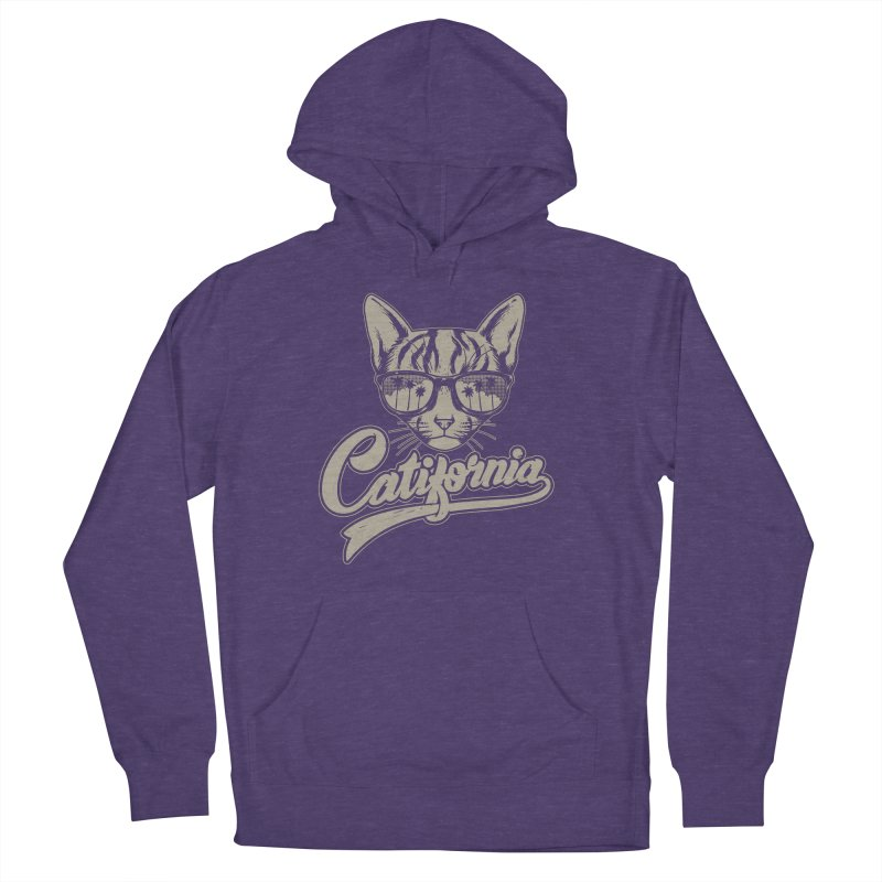 Catifornia Women's French Terry Pullover Hoody by ES427's Artist Shop