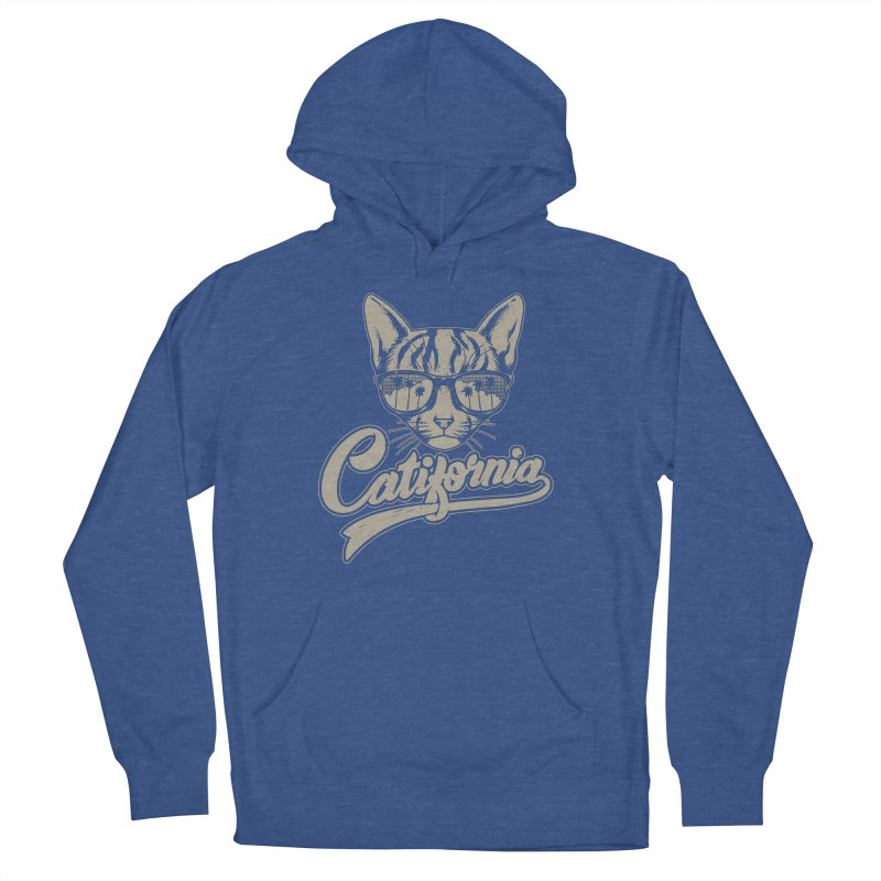 Catifornia Men's French Terry Pullover Hoody by ES427's Artist Shop