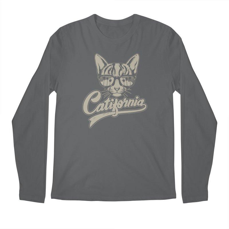 Catifornia Men's Regular Longsleeve T-Shirt by ES427's Artist Shop