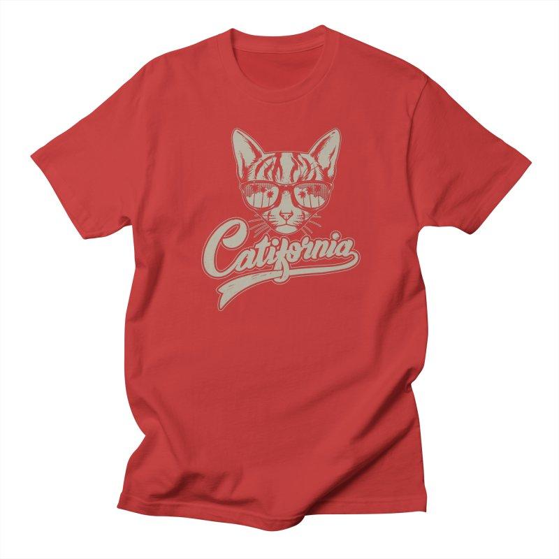 Catifornia Men's Regular T-Shirt by ES427's Artist Shop