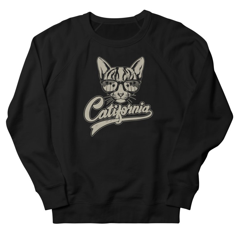 Catifornia Women's French Terry Sweatshirt by ES427's Artist Shop