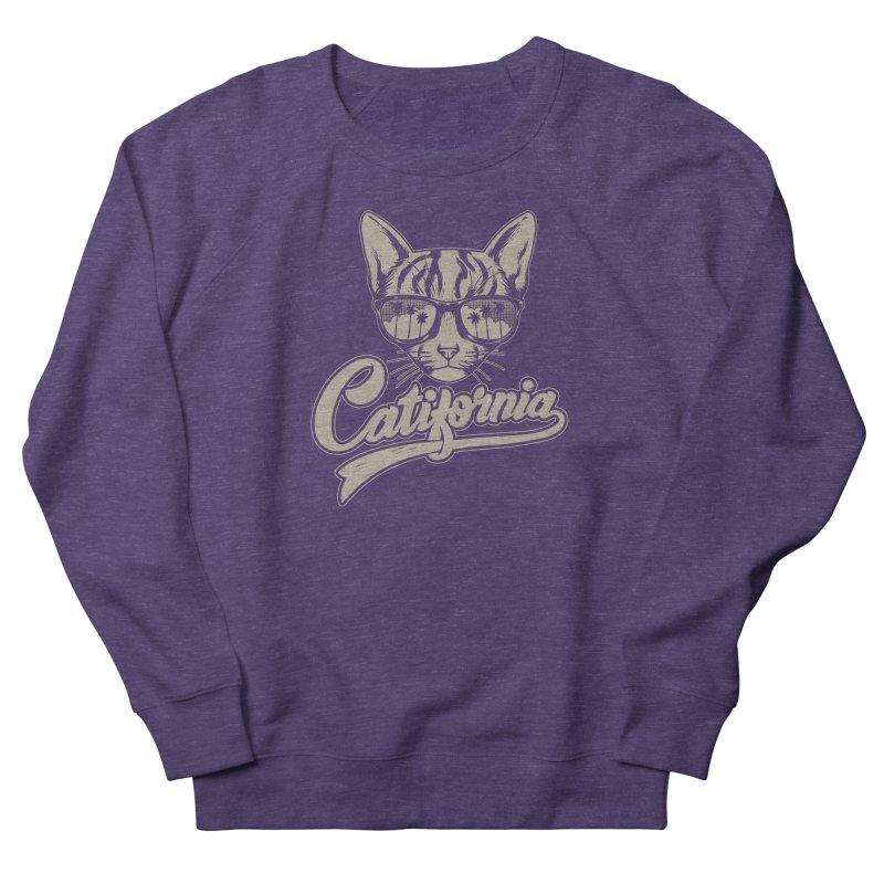 Catifornia Men's French Terry Sweatshirt by ES427's Artist Shop