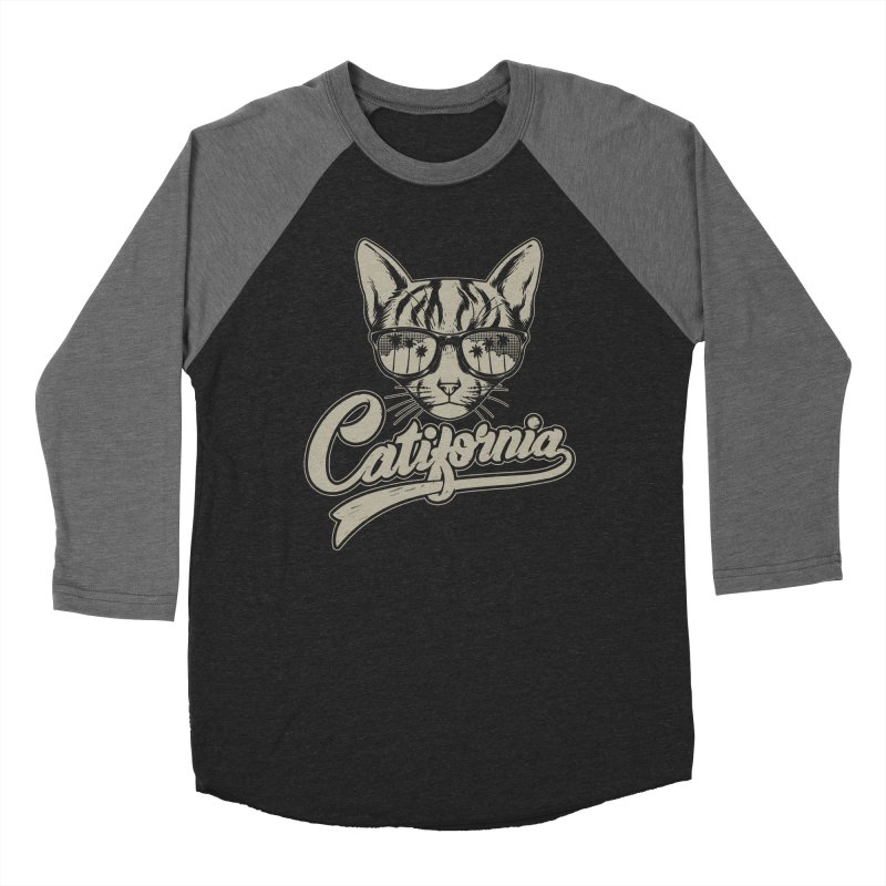 Catifornia Men's Baseball Triblend Longsleeve T-Shirt by ES427's Artist Shop