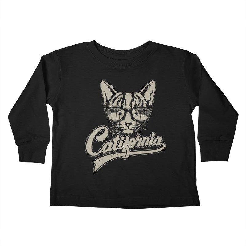 Catifornia Kids Toddler Longsleeve T-Shirt by ES427's Artist Shop