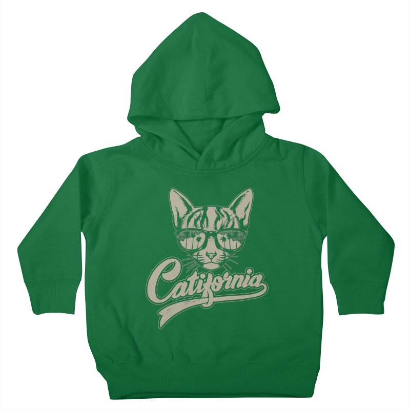 Catifornia Kids Toddler Pullover Hoody by ES427's Artist Shop